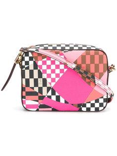 сумка на плечо с вышивкой Emilio Pucci
