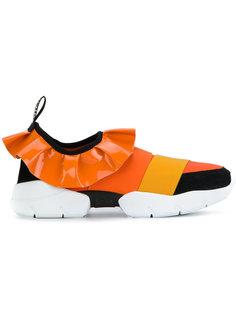 кроссовки с оборками Emilio Pucci