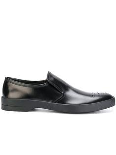 туфли-слипон Prada