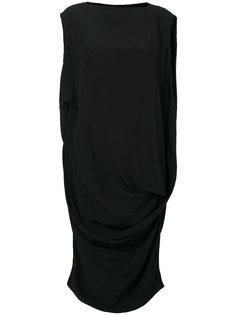 свободное платье без рукавов  Rick Owens