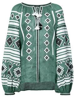 ethnic tassel blouse Vita Kin