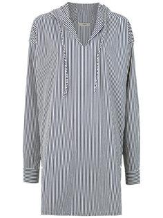 striped hood tunic Egrey