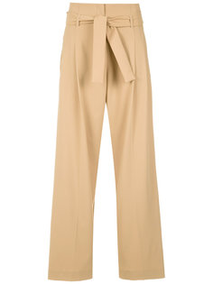paperbag waist palazzo trousers Egrey