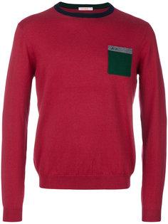 свитер с нагрудным карманом Sun 68