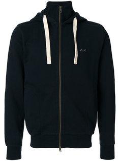 roll neck zip hoodie Sun 68