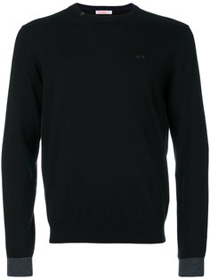 contrast cuff sweater Sun 68