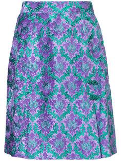 jacquard mini skirt  G.V.G.V.