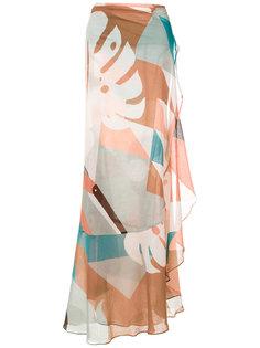 printed maxi skirt Adriana Degreas