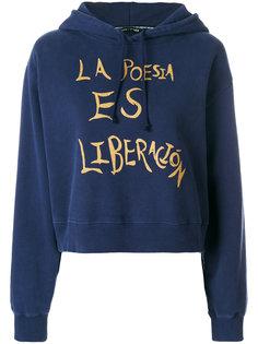 La poesia es liberacion hoodie Each X Other