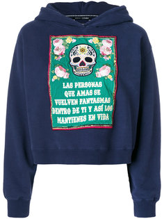 embroidered hoodie Each X Other