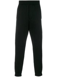 спортивные брюки прямого кроя Prada