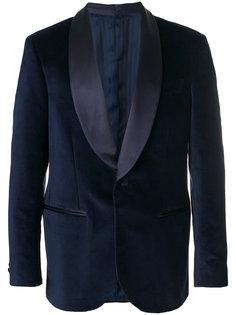 пиджак с лацканами-шалькой Mp  Massimo Piombo
