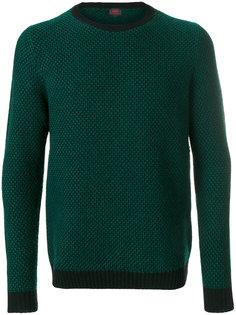 свитер с контрастным подолом Mp  Massimo Piombo
