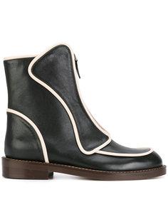 ботинки на молнии спереди Marni