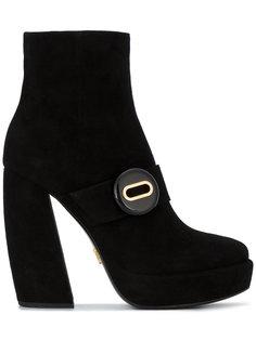 ботинки по щиколотку Prada