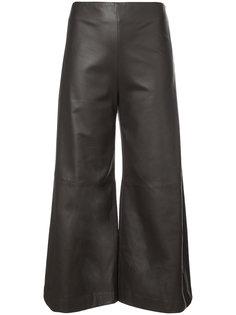 wide leg cropped pants Adam Lippes