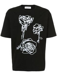 Rose print T-shirt Rochambeau