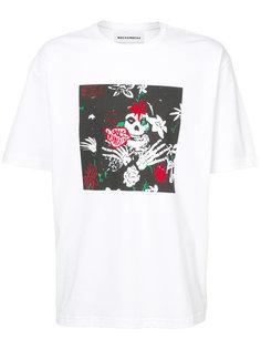 Grim Reaper printed T-shirt Rochambeau