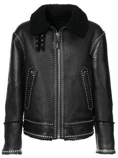 байкерская куртка с заклепками Givenchy
