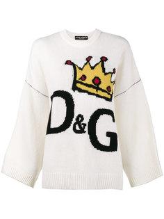 свитер с короной  Dolce & Gabbana