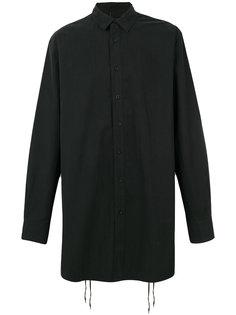 удлиненная рубашка со шнуровкой сзади D.Gnak