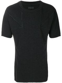футболка с панельным дизайном D.Gnak