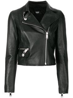 укороченная байкерская куртка  Versus