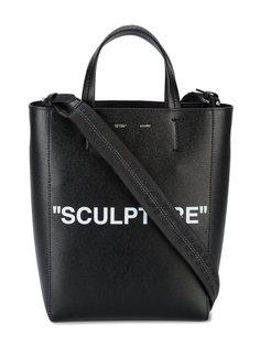 сумка-тоут Sculpture с принтом Off-White