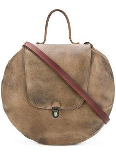 круглая сумка на плечо с эффектом потертости Cherevichkiotvichki
