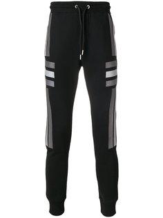 спортивные брюки с полосатыми панелями Les Hommes Urban