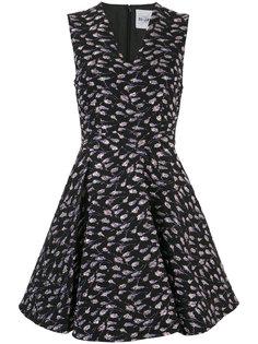 V-neck floral dress Si-Jay