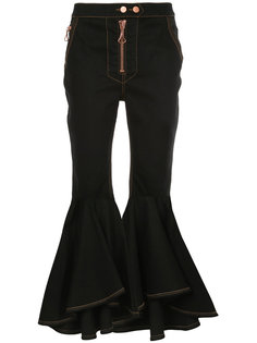Hysteria Crop Flare jeans Ellery