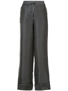 широкие брюки в полоску Yigal Azrouel