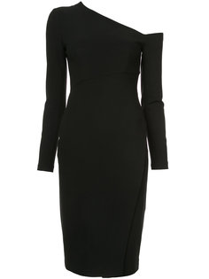 one-shoulder fitted dress Yigal Azrouel