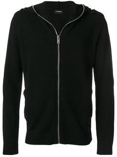 knit zipped hoodie Les Hommes Urban