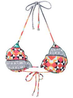 Kailua printed bikini top Lygia & Nanny
