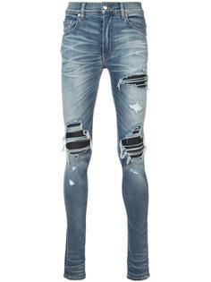 джинсы кроя скинни с потертой отделкой Amiri