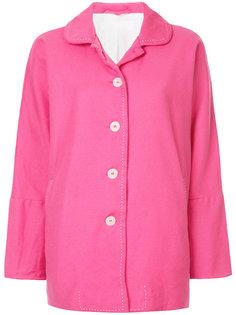 свободная куртка с контрастной строчкой  Casey Casey