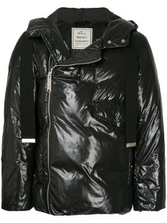 куртка с капюшоном на молнии Maison Mihara Yasuhiro