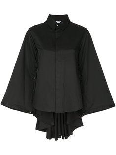 рубашка-кейп  Maison Mihara Yasuhiro
