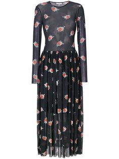 floral print dress  Ganni