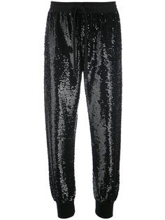 sequinned trousers Ashish