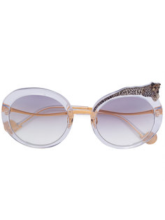 round frame sunglasses Anna Karin Karlsson