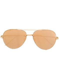 aviator sunglasses Linda Farrow