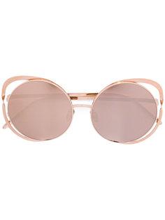 cat eye sunglasses Linda Farrow