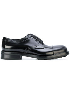 туфли Дерби на шнуровке Prada