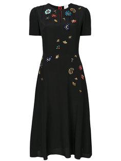 платье с цветочным декором Paul Smith