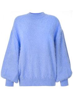 свитер с объемными рукавами  Emilio Pucci
