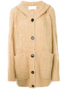 пальто-кардиган с капюшоном  Chloé