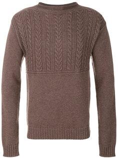 свитер вязки с косичками Maison Margiela
